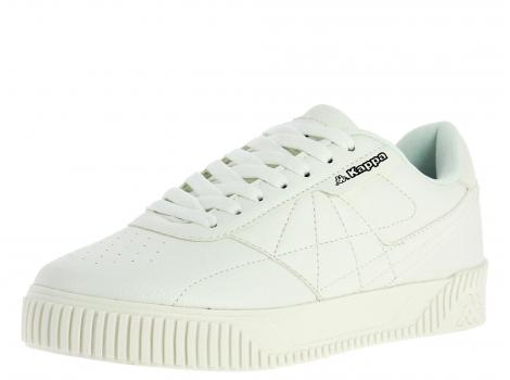 UNISEX CASUAL  KAPPA BLEARY 242 851 WHITE/BLACK