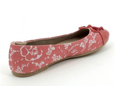 ŽENSKE BALERINKE CENTR SHOES SS15-101 CORAL
