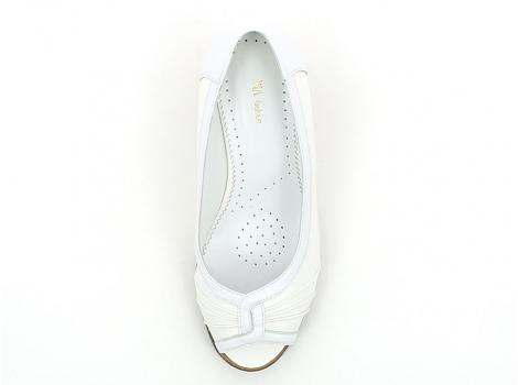 ŽENSKE BALERINKE PIA FASHION 50 245 WHITE