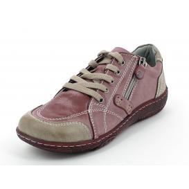 ŽENSKI CASUAL CANILH B425 RED/BROWN
