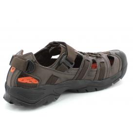 MOŠKI SANDALI HI-TEC AVSSS17 HT-01 SATIV BLACK/ORANGE/BROWN