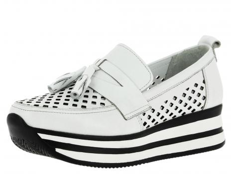 ŽENSKI CASUAL IMPERO 843 WHITE/BLACK