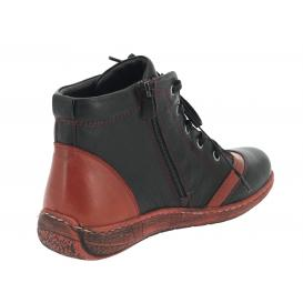 ŽENSKI CASUAL CANILH B7407.12 455-437 BORDO/BLACK